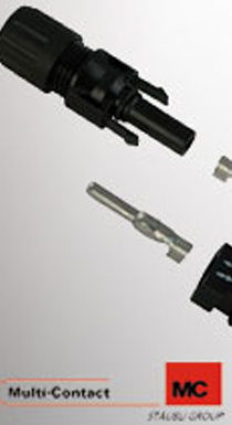 Multi-Contact MC4 connector given UL approval for 1500 volts