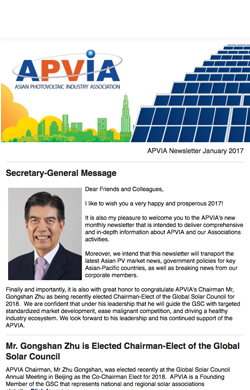 APVIA January 2017 Newsletter now online