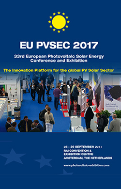 3 days left to submit your abstract for EU PVSEC 17