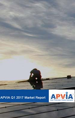 APVIA Report 1Q2017 Steady PV Growth Continues in Asia